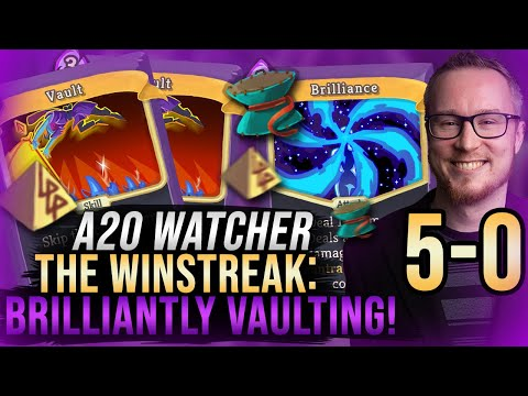 The Win Streak: Brilliantly Vaulting Right to 5-0! | Ascension 20 Watcher Run | Slay the Spire