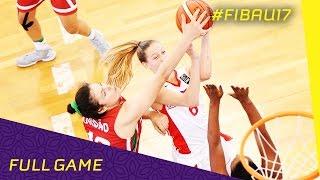Czech Republic v Portugal - R.o.16 - Full Game - FIBA U17 Women's World Championships 2016