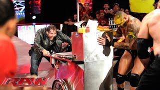 John Cena vs. Seth Rollins, Randy Orton & Kane – 3-on-1 Handicap Match: Raw, Oct. 6, 2014