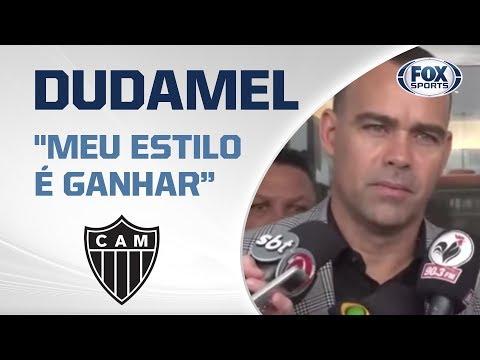 'MEU ESTILO É GANHAR': Dudamel chega com festa da torcida em Belo Horizonte