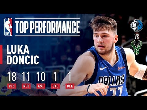 65b7edc62f77 Luka Doncic Records His FIRST Career Triple-Double