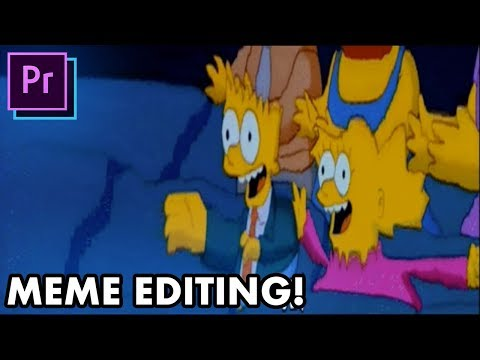 5 Essential MEME Video Editing Techniques! – (Adobe Premiere Pro, Photoshop Tutorial How To)