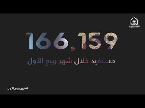 تقرير شهر ربيع الأول ١٤٤٠هـ