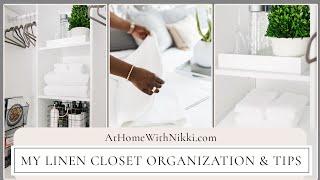 LINEN CLOSET ORGANIZATION | His & Her Space