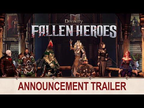 Trailer d'annonce de Divinity: Fallen Heroes