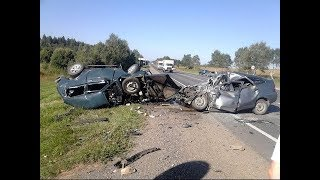 Подробка аварий на дорогах 2018 (Выпуск 7)