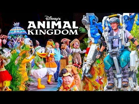 Disney's Animal Kingdom 20th Anniversary + Pandora Utility Suit!