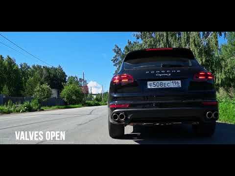 958.2 Cayenne S/GTS/Hybrid V6 Valvetronic Axle-Back Exhaust