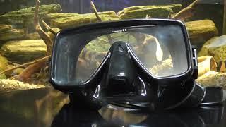 Маска  для плавания BS Diver Axe, чёрная от компании МагазинCalipso dive shop - видео