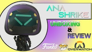 Funko Pop Ana Shrike Overwatch Amazon Exclusive Unboxing & Review! SUPER COOL SKIN!
