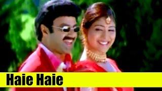 Telugu Songs - Haie Haie - Chennakesava Reddy [ 2002 ] - Balakrishna Nandamuri, Shriya Saran