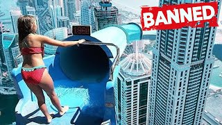 CRAZY & INSANE WATERSLIDES that can KILL YOU!!