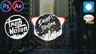 How to make Logo & Audio Spectrum Trap Nation on Android
