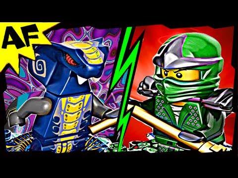 Vidéo LEGO Ninjago 9573 : Slithraa