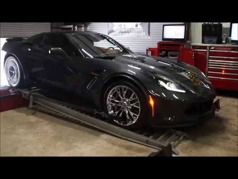 C7 Z06 Corvette Stock Dyno Testing 5th & 6th gear Before Mods at RDP Motorsport