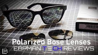 Upgrade The lenses on the Bose Frames Alto to Polarized