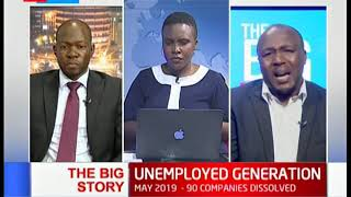 KNBS report shows 70% of the unemployed people are youth | The Big Story