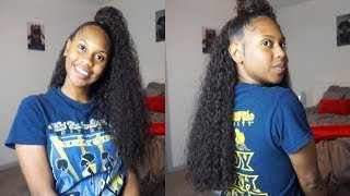 Half Up Half Down Quick Weave Free Video Search Site Findclip