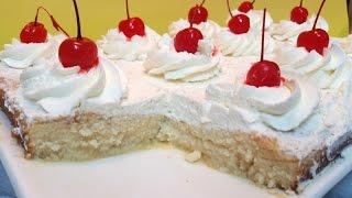 TRES LECHES FACIL PASO A PASO | Como hacer pastel Tres Leches