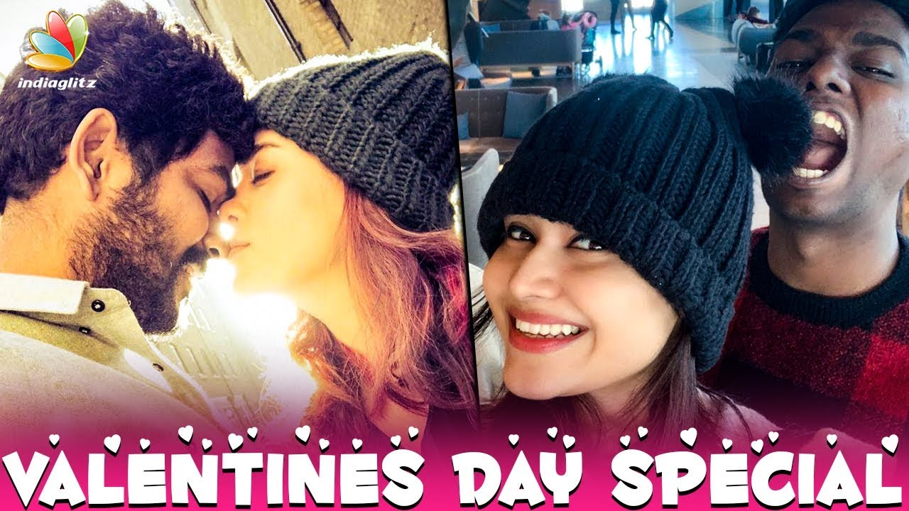 Love & Red Roses From Nayanthara : Vignesh Shivan's Valentine Day Celebration   Hot News