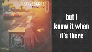 STAVESACRE MCMXCV ONE HAND CLAPPING LYRIC VIDEO