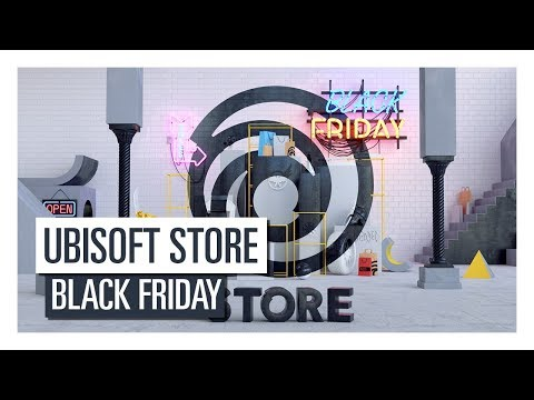 """""""UBISOFT STORE -BLACK FRIDAY SALES UP TO -80%"""""""