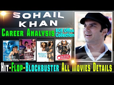 Sohail Khan Box Office Collection Analysis Hit and Flop Blockbuster All Movies List.