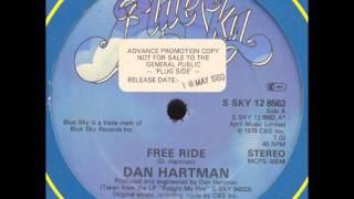 Dan Hartman - Free ride  (1979)