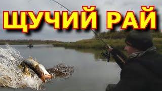 Рыбалка осенью на севере