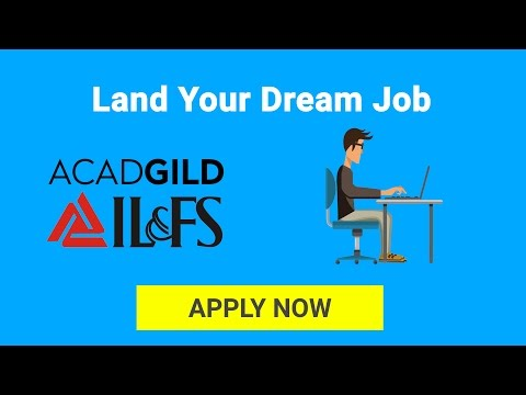 IL&FS Skills Training Program | Job Oriented Skills Training By ACADGILD