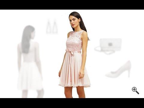 Rosa Kleid in Kurzkombinieren + 3Rosa Outfits für Gaby