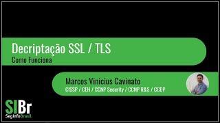 Decriptação SSL / TLS