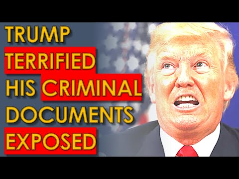 Trump TERRIFIED that his CRIMINAL Files have been EXPOSED to Congress