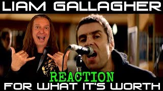 Vocal Coach Reacts To Liam Gallagher   For What It's Worth   Live At Air Studios   Ken Tamplin