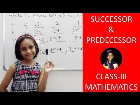 Download Successor and Predecessor | Class-III Mathematics Mp4 HD Video and MP3
