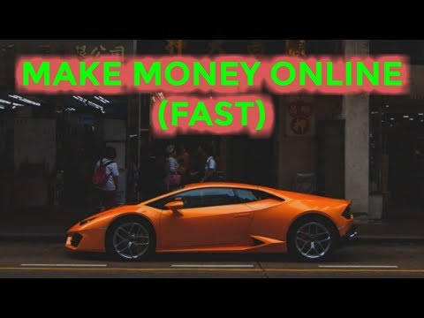 Make Money Online Fast (PROVEN $10K METHOD)