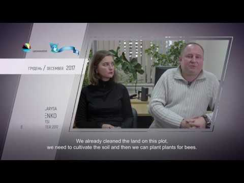 Video feedback of Larysa Kravchenko and Andrii Kravchenko, graduates of the Ukraine-Norway project