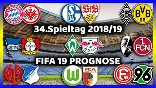 34.Spieltag - Die Große Konferenz (Alle 9 Spiele) - Bundesliga Prognose I FIFA 19 [FULL HD]
