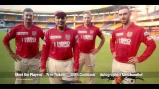 Meet Greet with the Kings XI Punjab players Upload purchase invoice of