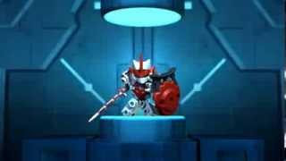 Tenkai Knights - Website Intro