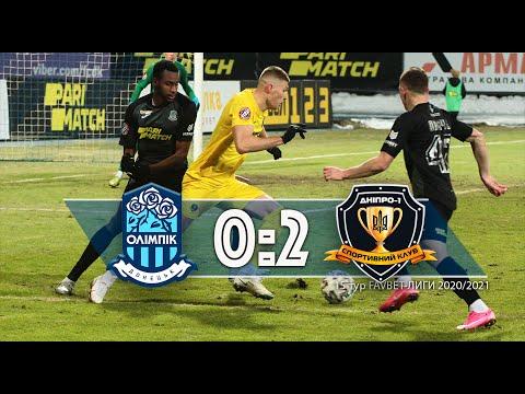 FK Olimpik Donetsk 0-2 SK Sport Klub Dnipro-1  Dnipropetrovsk