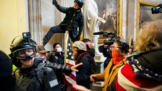 Watch a timeline of the U.S. Capitol siege that rocked America