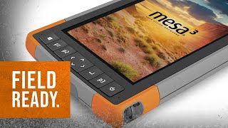 Mesa 3 Rugged Tablet: Unboxing and Overview   Field Ready