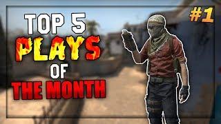 Top 5 CS:GO Plays Of The Month #1 (DANSK CS:GO)