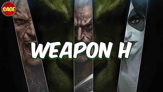 """Who Is Marvel's """"Weapon H?"""" Hulk & Wolverine Hybrid! (Sneak Peek)"""