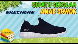 Sepatu Sekolah Anak Laki Laki merk Skechers