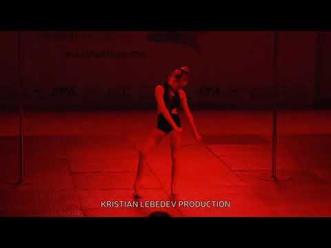 Pole sport kids 12 years old super flexibility rutine Russian Champion