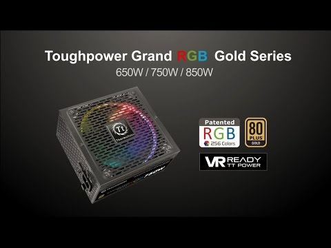 Thermaltake Toughpower Grand RGB Gold Power Supplies Trailer