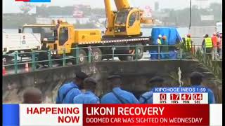 LIKONI RECOVERY: Likoni Wreck Retrieval Underway