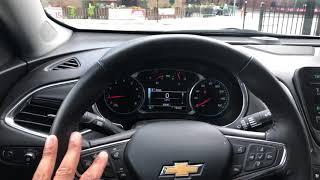 Chevy Malibu - Locking and unlocking doors